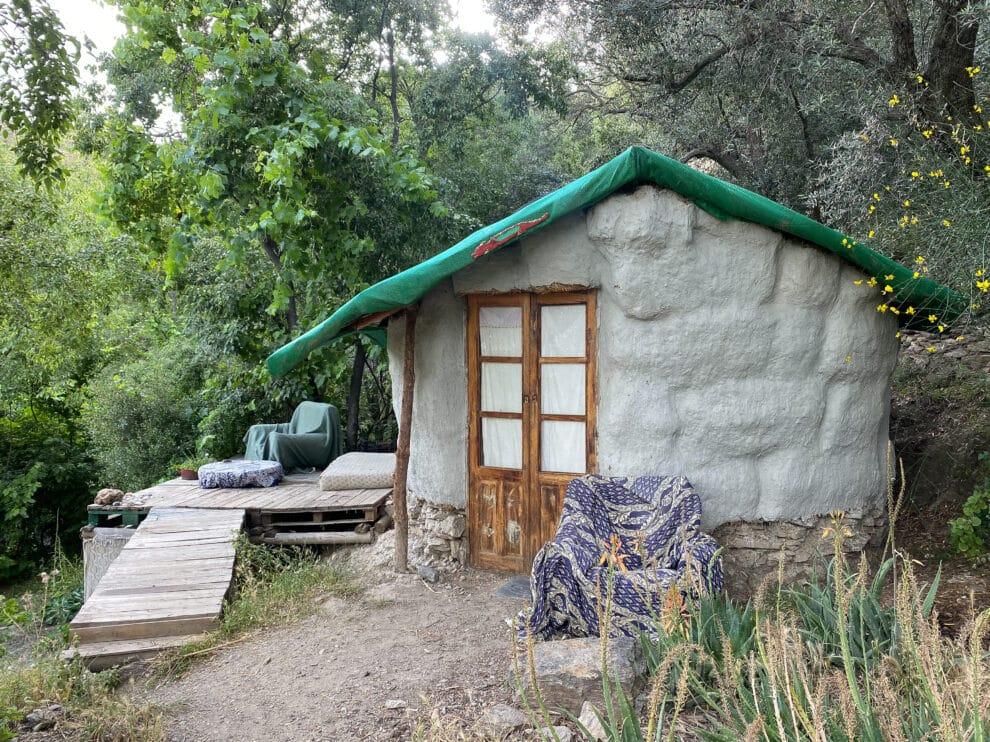 overnachten met een tent in beneficio Alpujarras