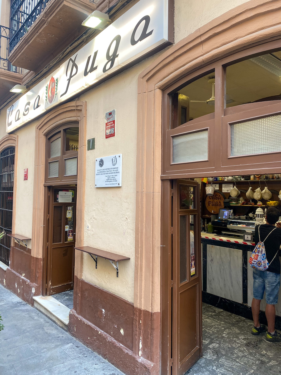 Leukste restaurantjes in citytrip Almería - casa Puga