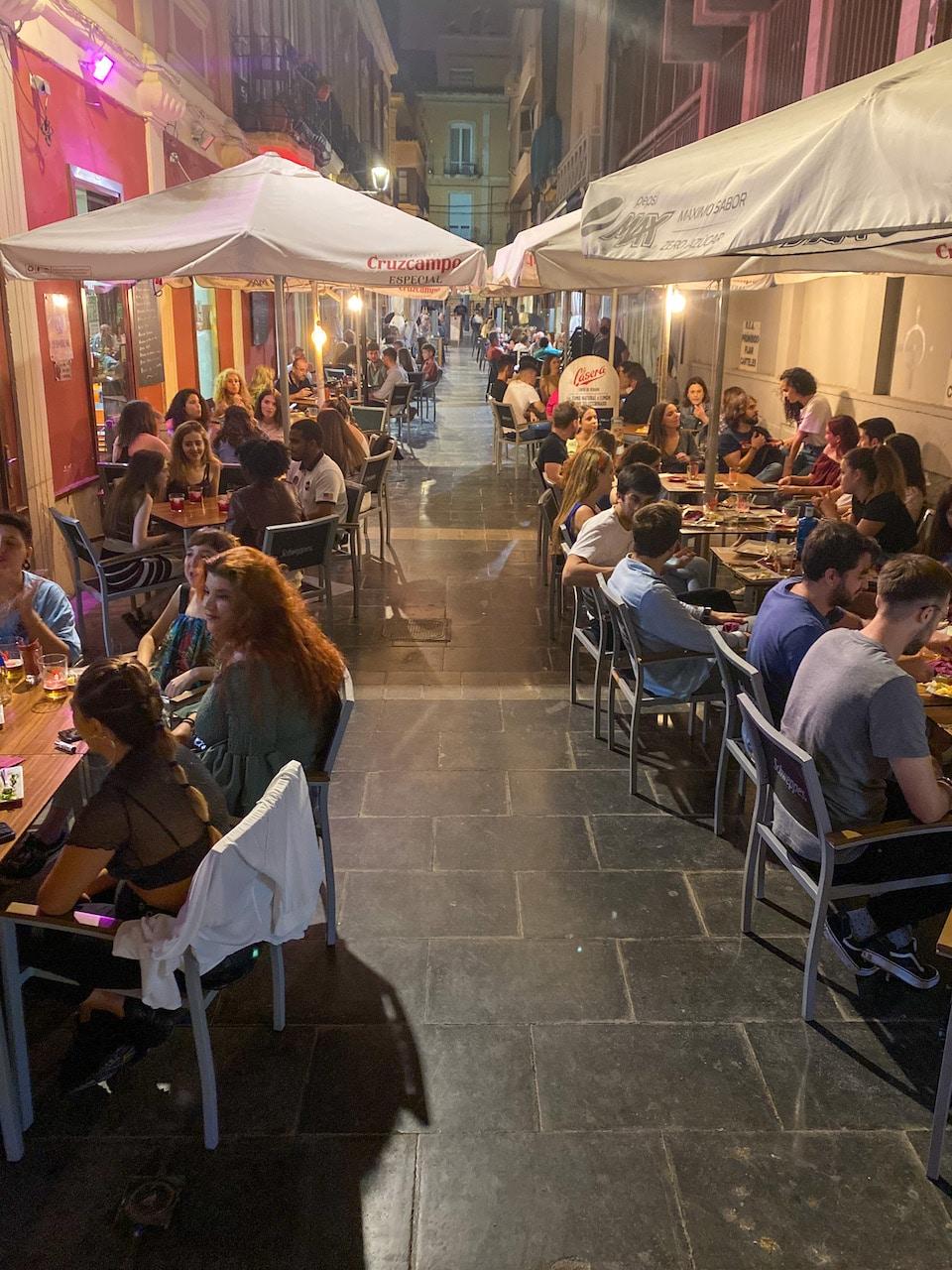 Bars en uitgaan in Almería