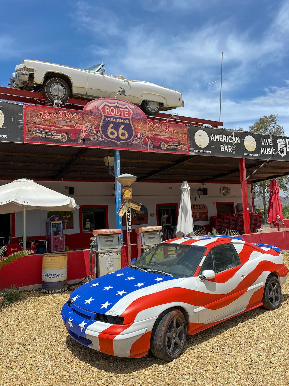 American diner Route 66