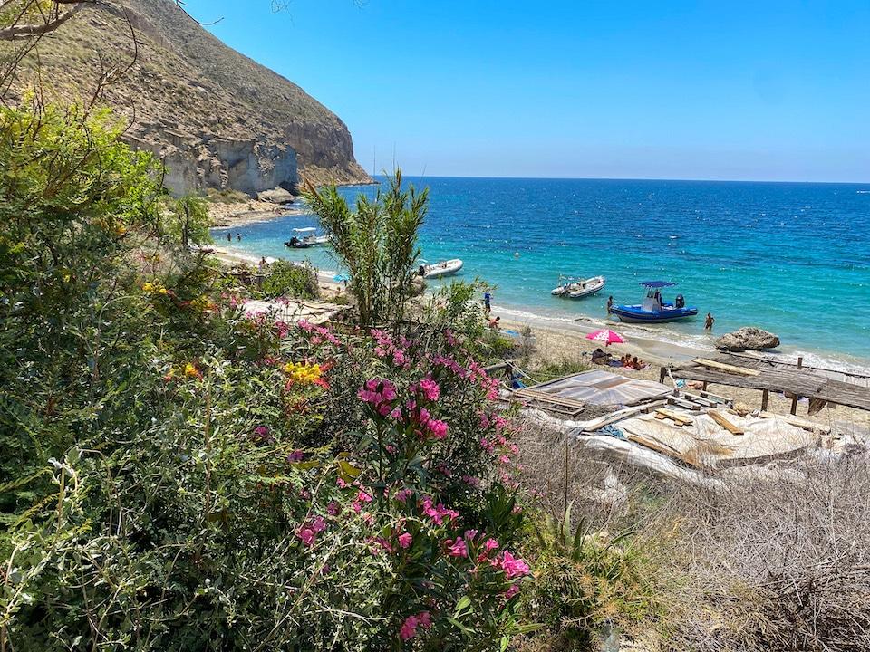 hippie strand cabo de gata - Cala de San Pedro