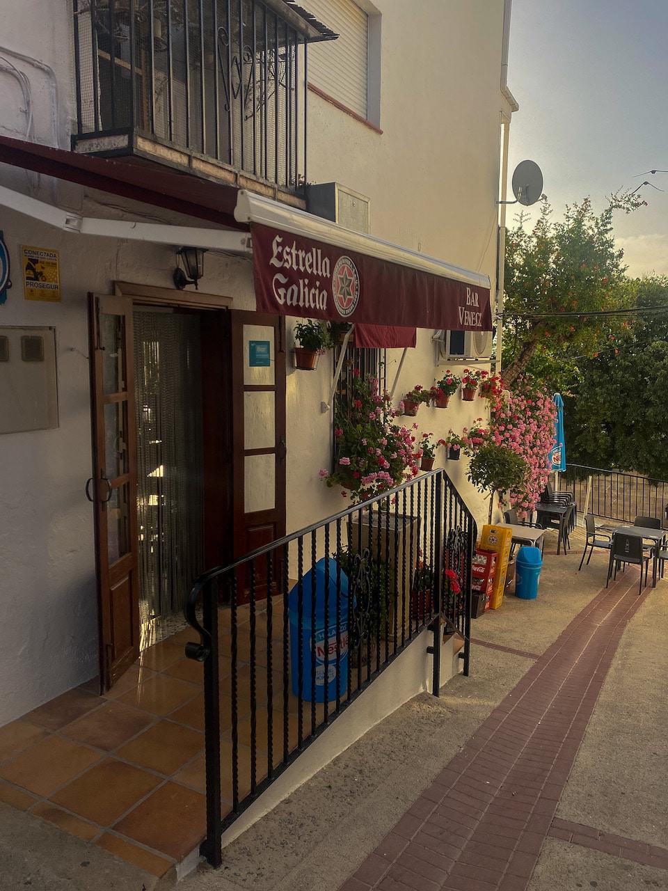 restaurants Lecrin Vallei Spanje