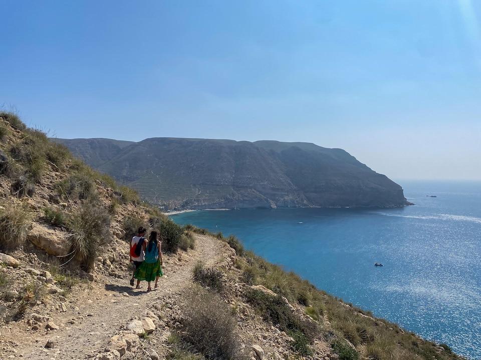 wandeling van het dorp Las Negras naar Cala de San Pedro