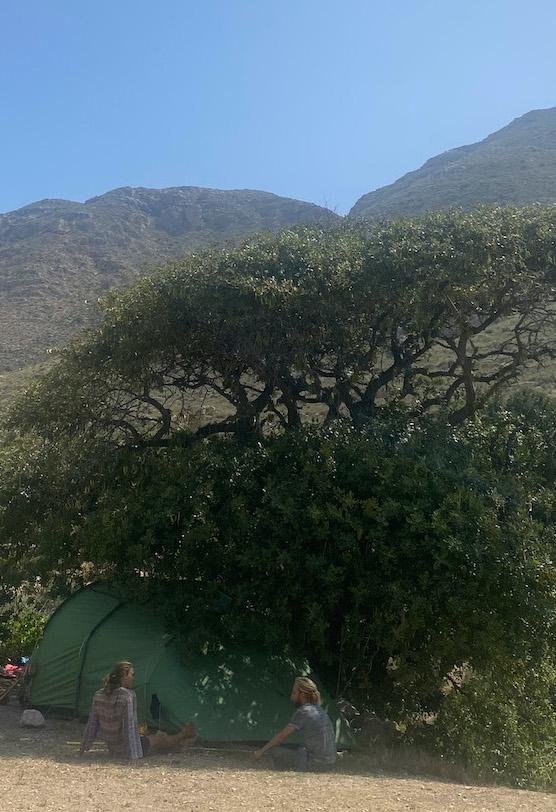 'legaal' wild kamperen in Andalusie zuid spanje - gratis