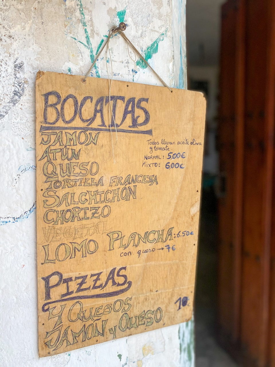 Bar / restaurant in Cala de San Pedro / Bar & co Pirata