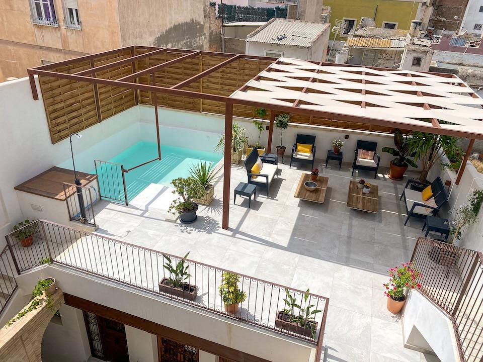 Nieuw boutique hotel in 2021 met zwembad