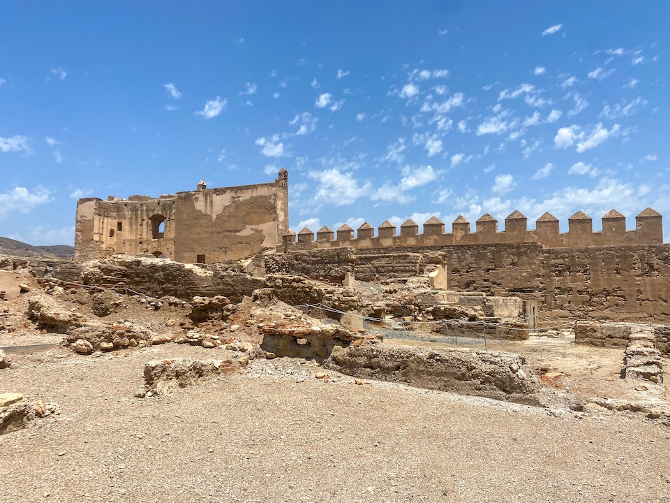 Arabisch fort Alcazaba
