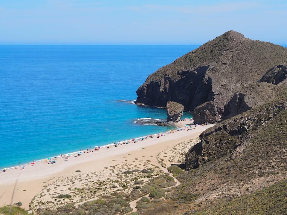 Cabo de Gata - playa de los Muertos
