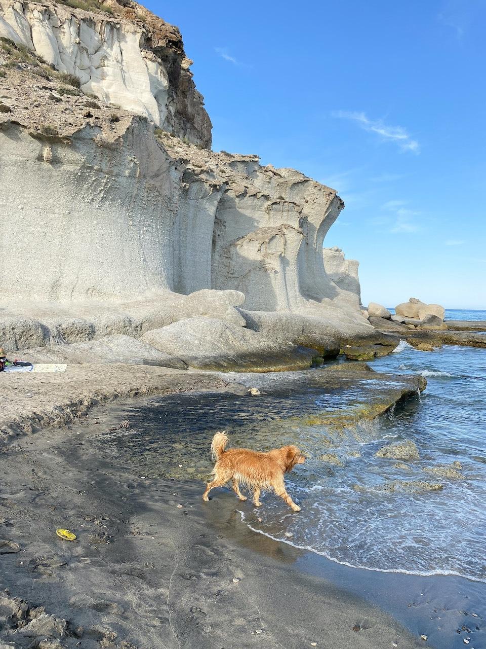 Mooiste strand Cabo de Gata -  Cala del Enmedio