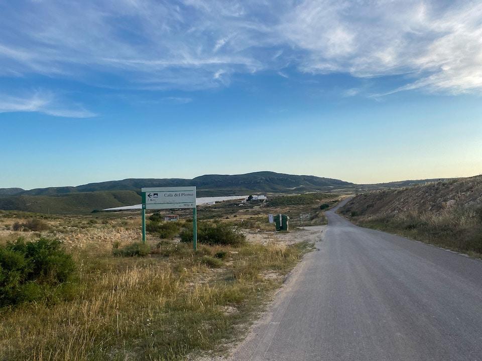 route naar Cala del Plomo