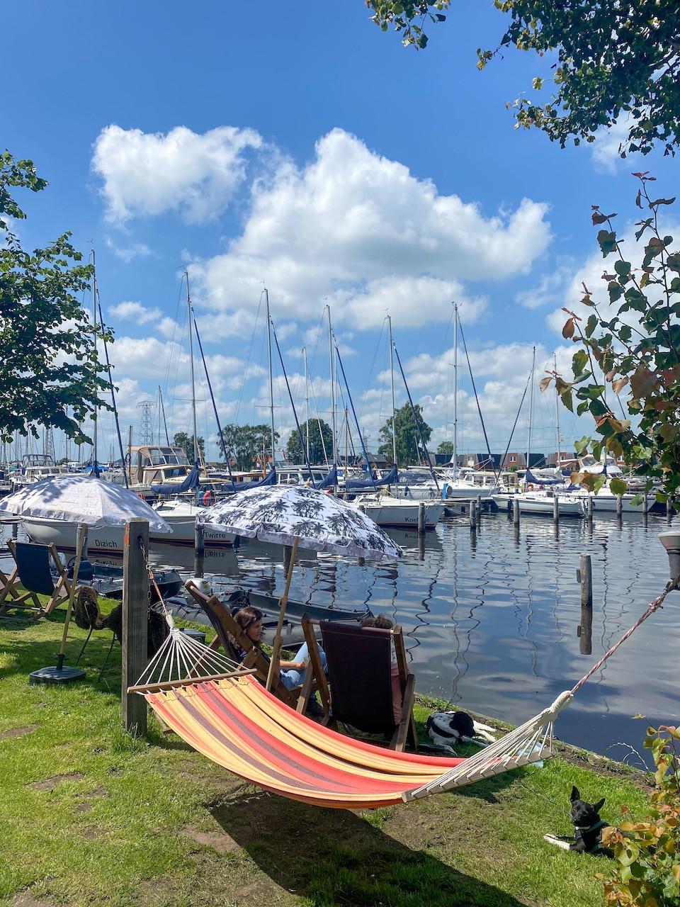 eten aan het water in Friesland de Koken Akkrum