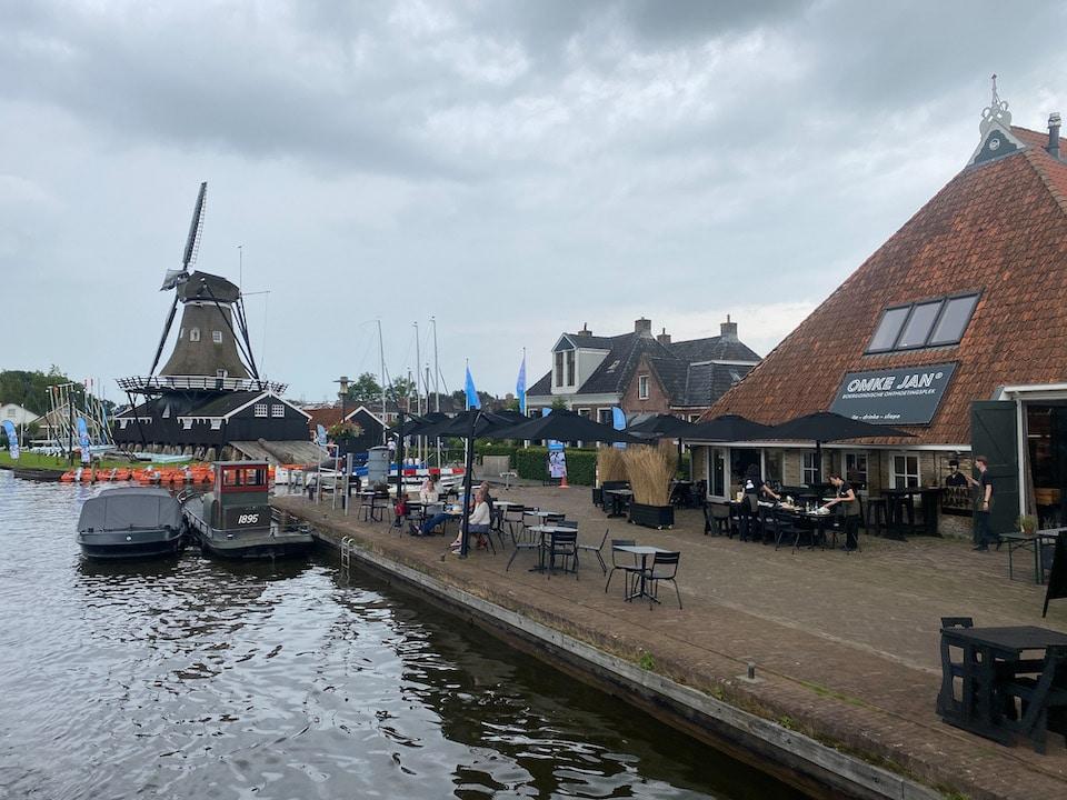 restaurants aan het water in Friesland - Omke Jan Woudsend