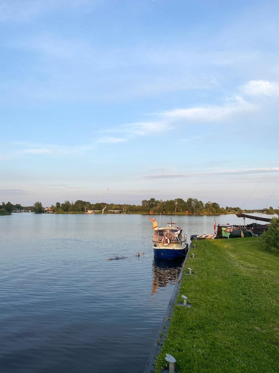 Vaarvakantie in Friesland - vaarroute voor 1 week  - Natuurpark de Alde Feanen