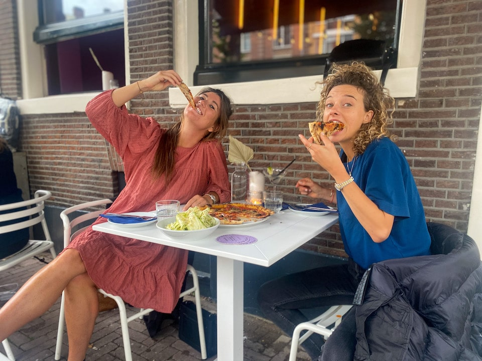 Paradise Pizza Bar Amsterdam - nieuw restaurant in 2021  menu