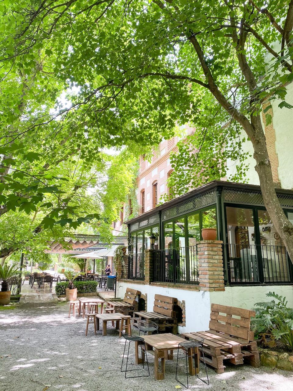 restaurants Valle de Lecrin - El Molino del Puente