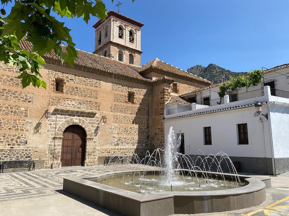 het hoogste dorpje van de Lecrin Vallei - Nigüelas