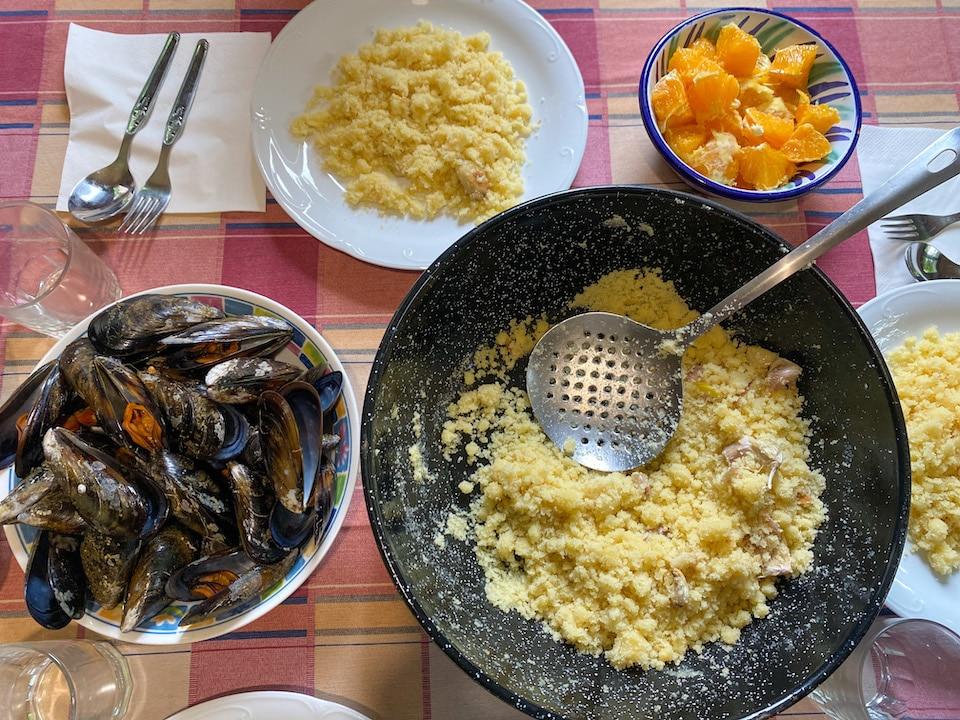 migas eten in alpujarras / valle de lecrin