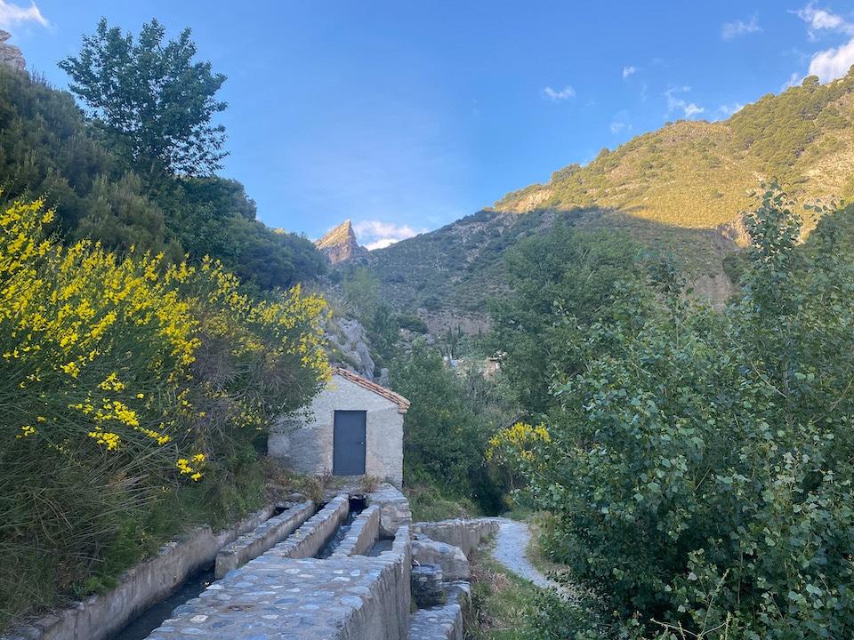 Nigüelas - dorpen in Lecrin Vallei