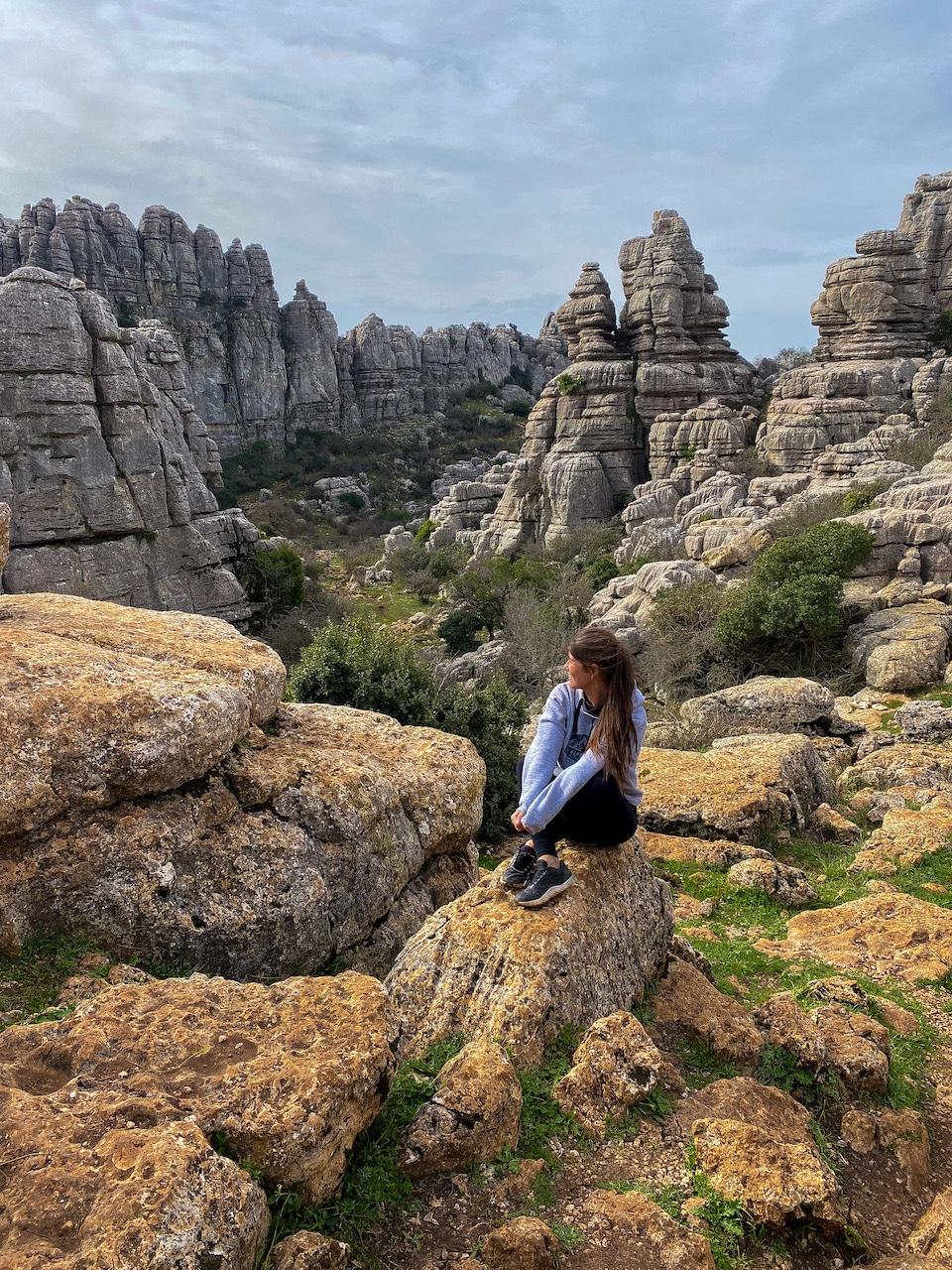 natuurpark El Torcal - tips rondreis Andalusië