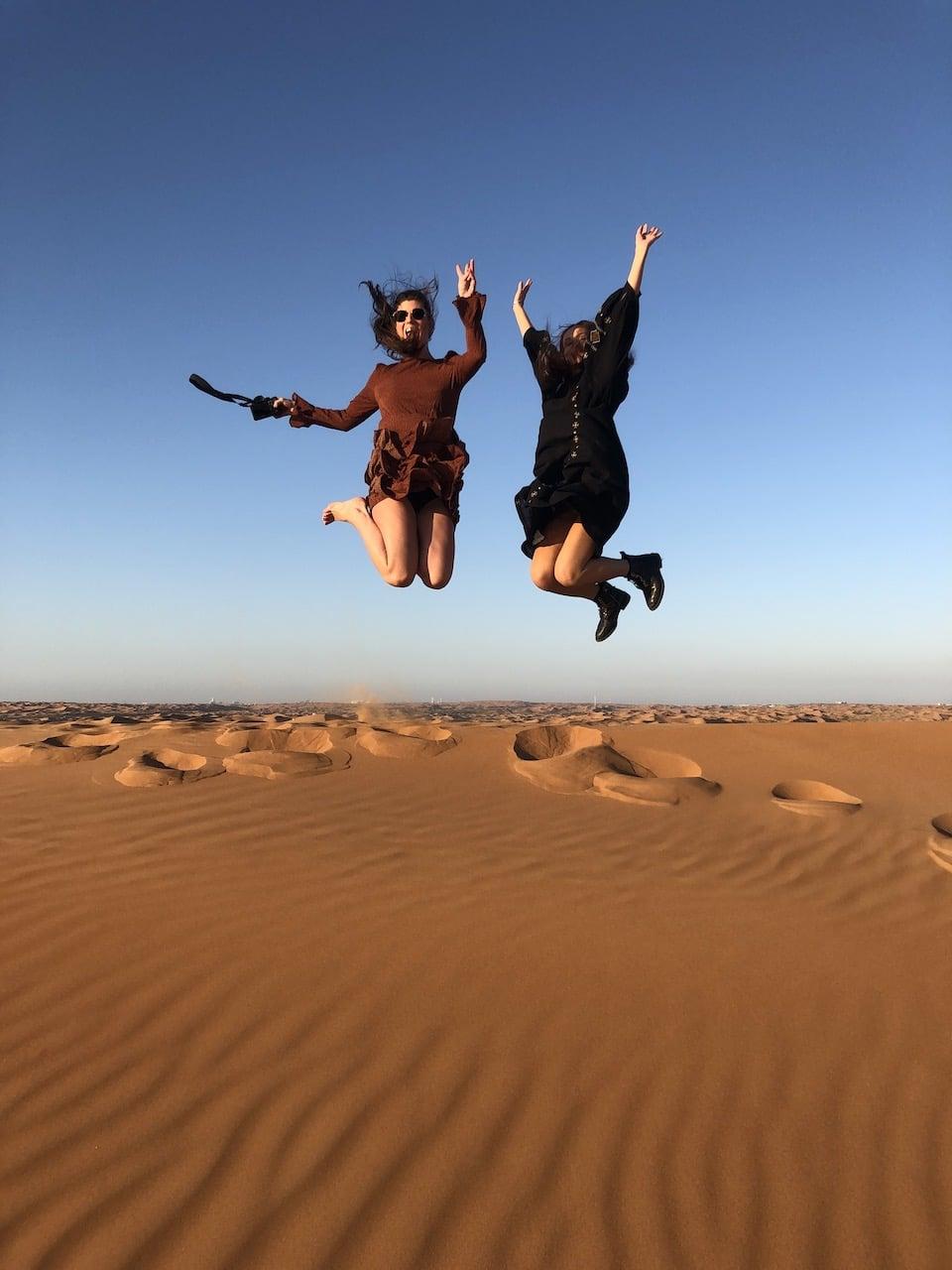 Adrenaline ervaren tijdens het reizen in het midden oosten