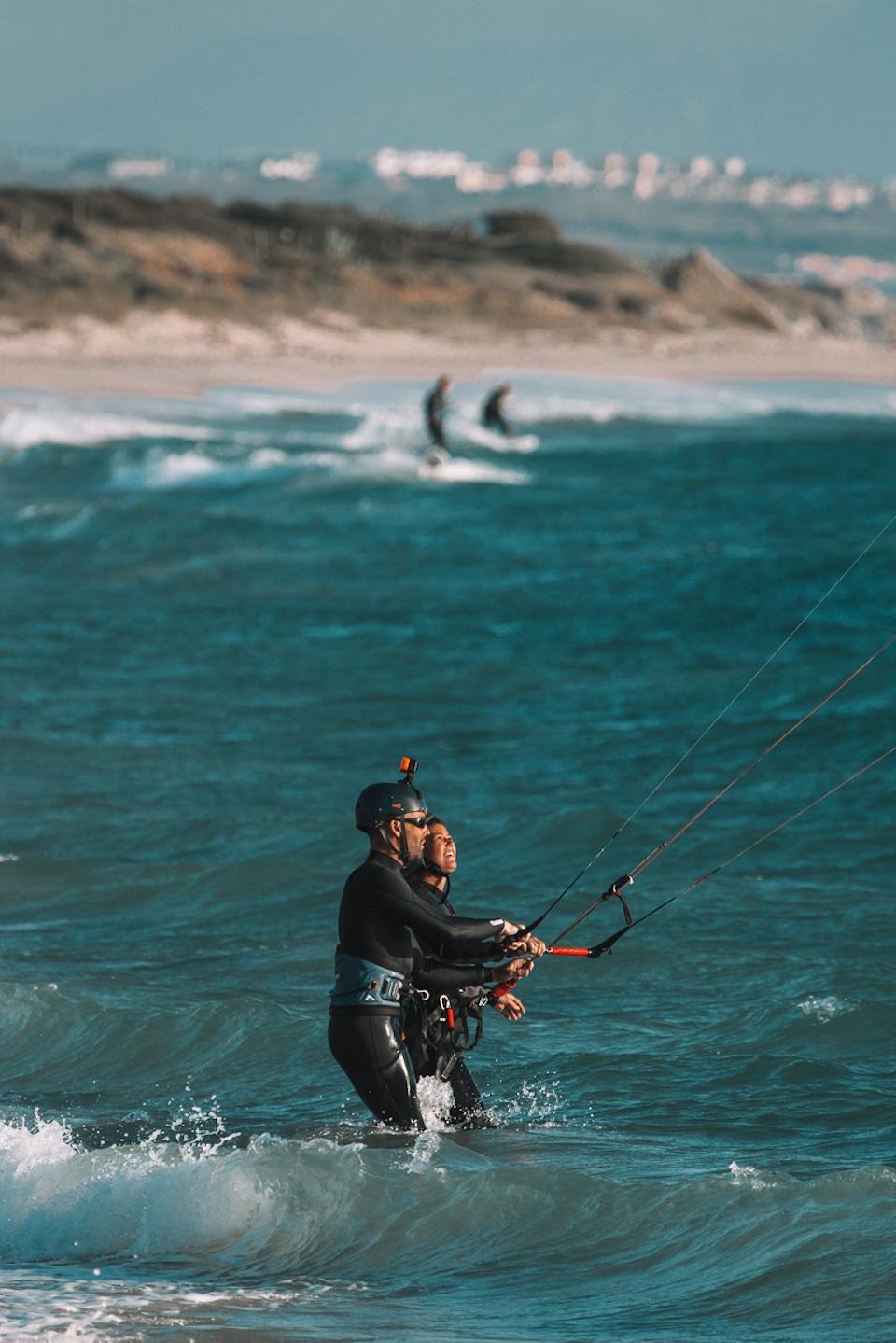 leren kitesurfen in Tarifa