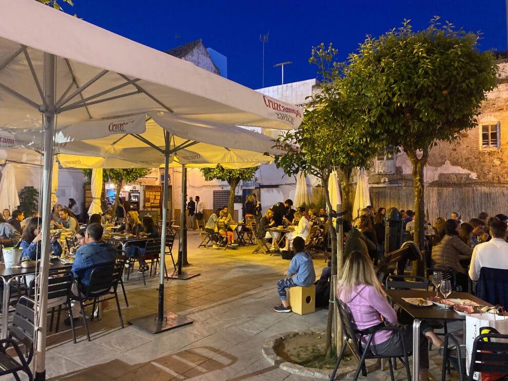 leuke restaurants / tapas barretjes in Tarifa - Plaza San Martin