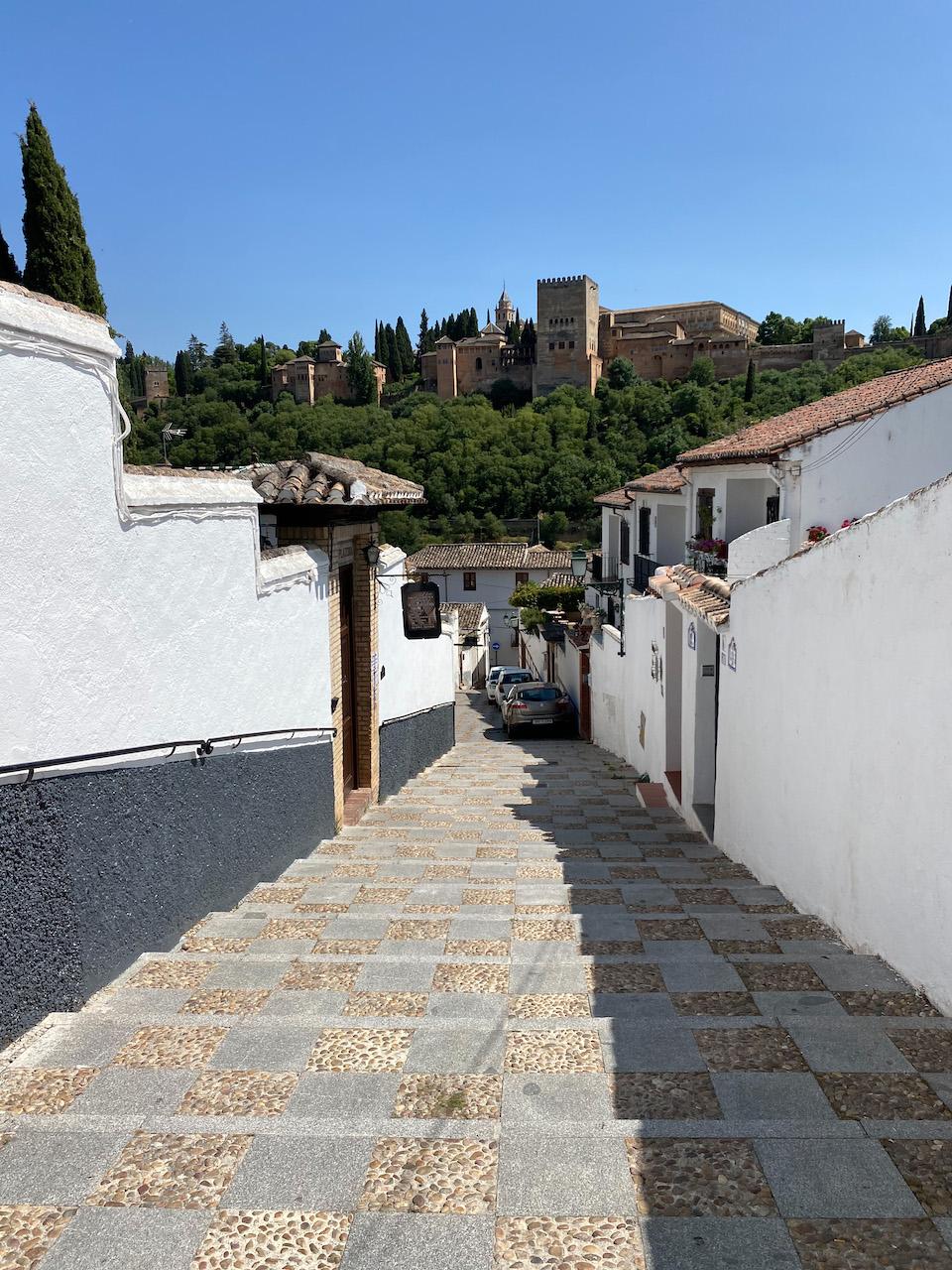 Stedentrip Granda - wijk Albaicin
