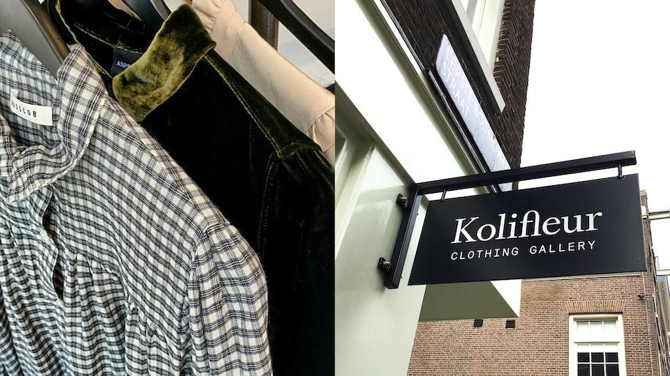 designer vintage winkels in Amsterdam - Kolifleur