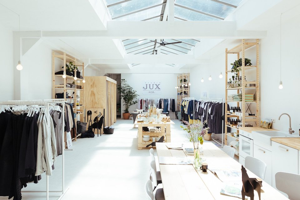 duurzame kleding winkels in Amsterdam - Studio JUX