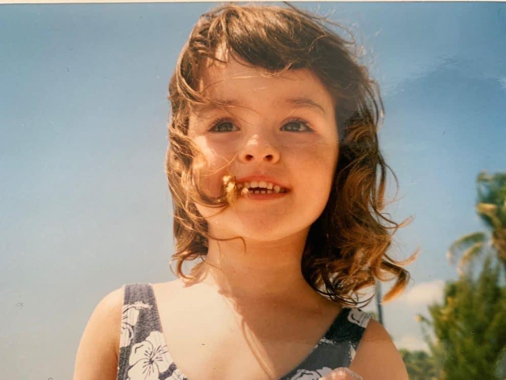 Lisa als kind