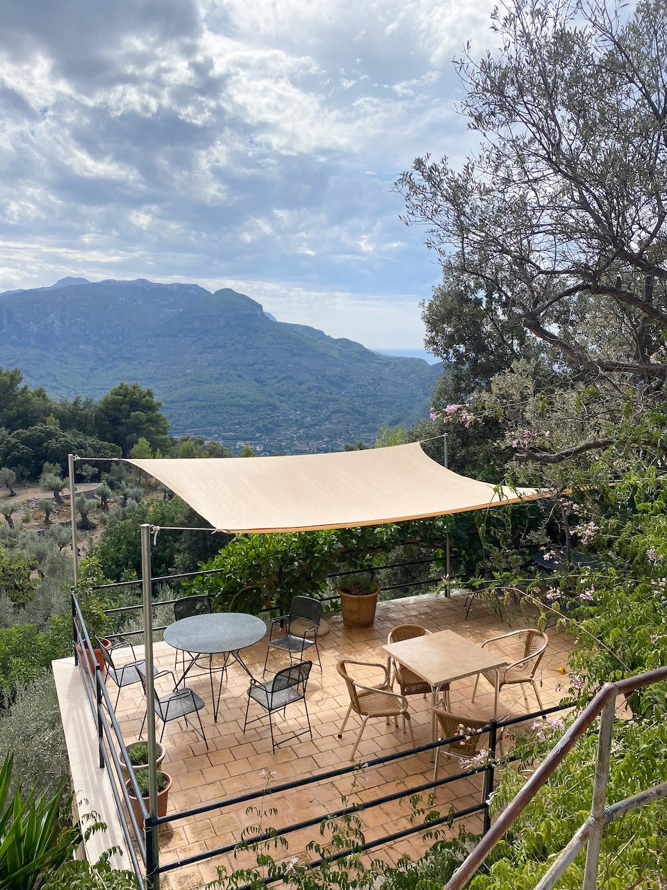 Restaurant Mirador ses Barques - eten in de bergen