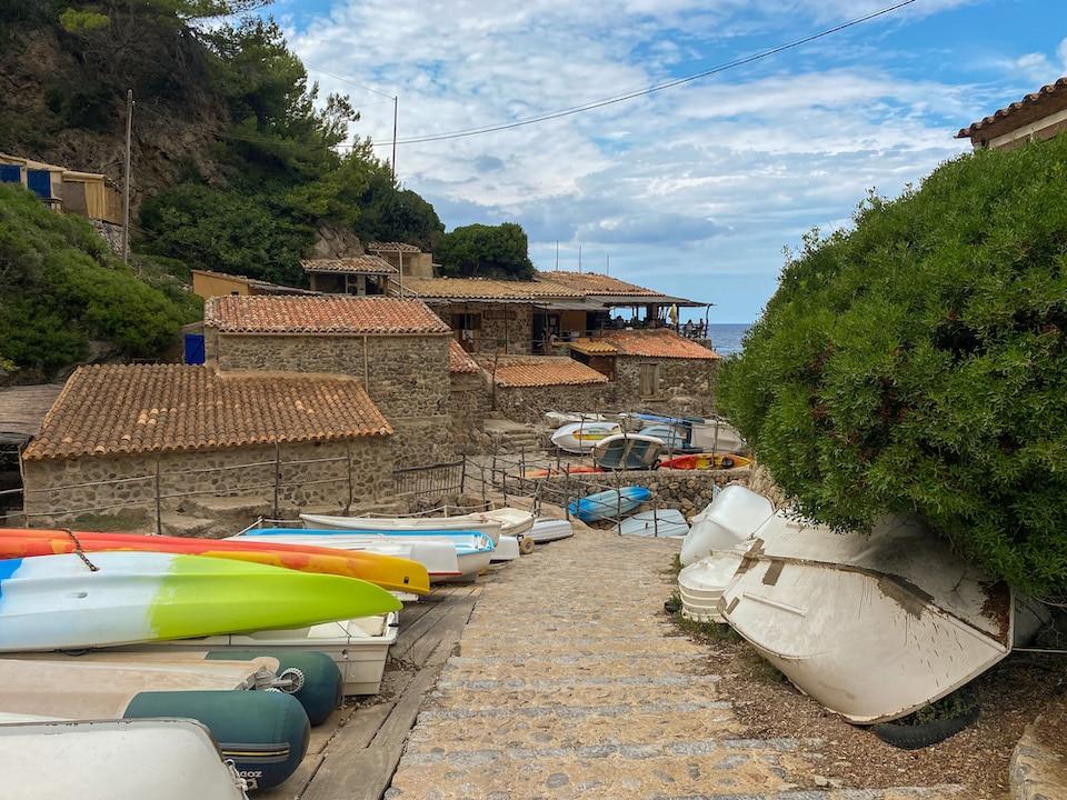 Cala de Deià stranden westen Mallorca