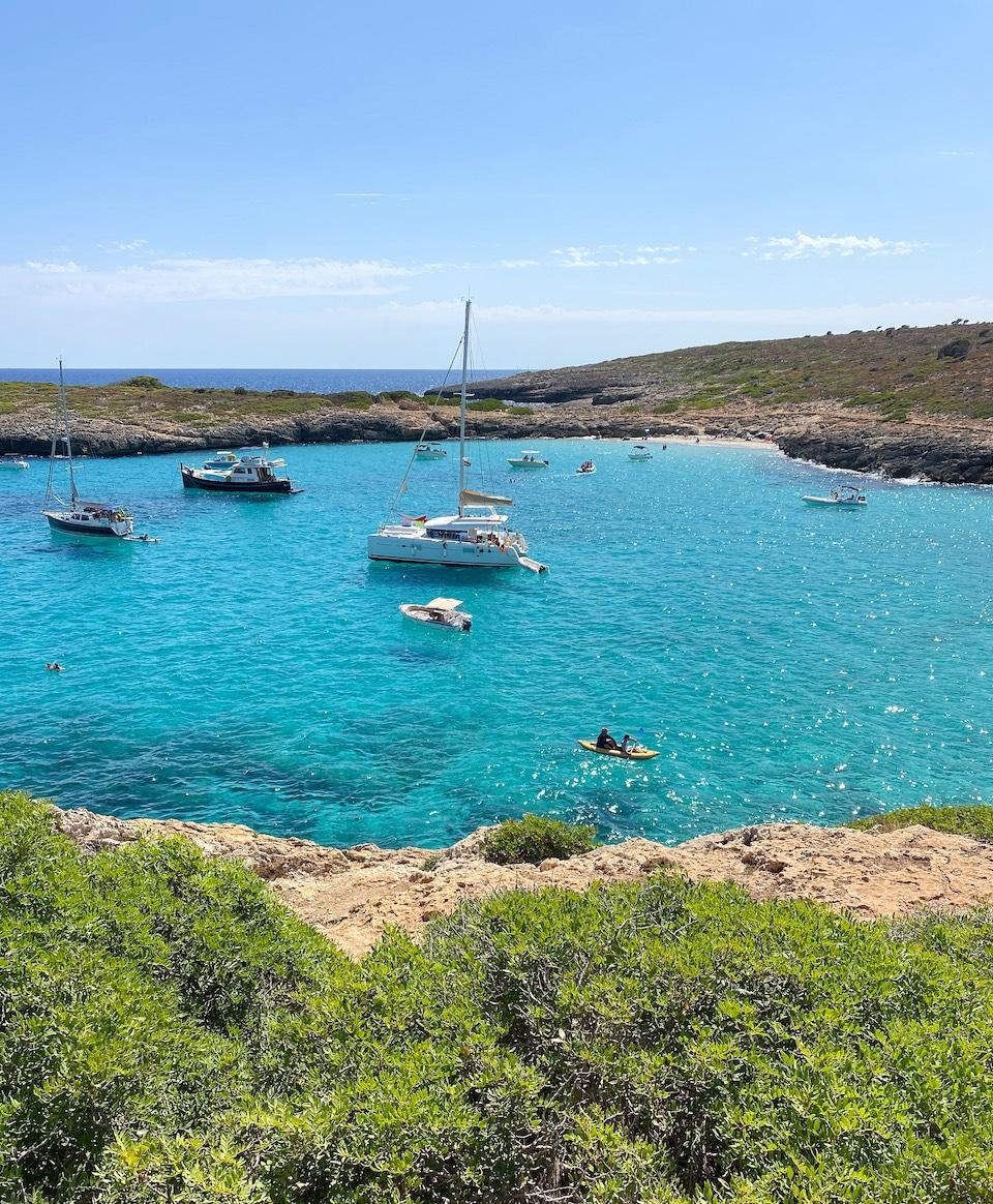 mooiste strand van Mallorca - oosten - Cala Varques