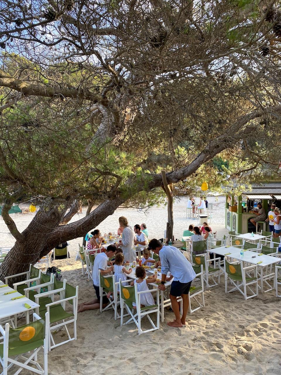 strandtentje Mallorca Restaurant Sa Nau Mallorca verborgen plekken