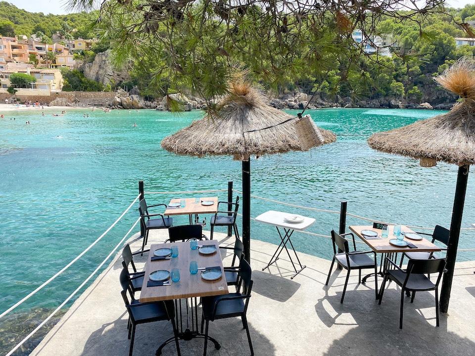 restaurants Mallorca westen  - Restaurant Illeta - Camp de Mar