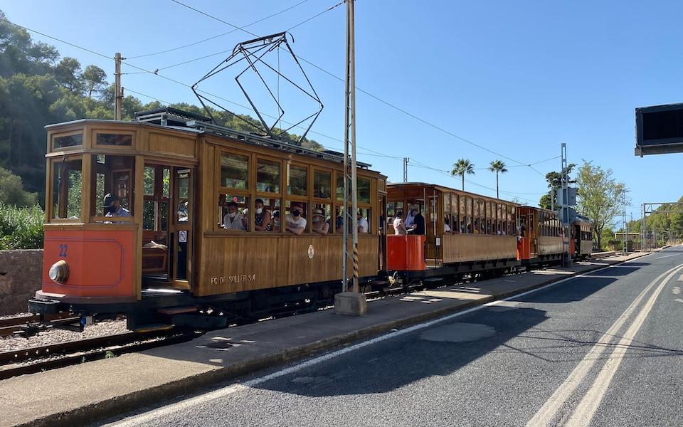 tram / trein van Sóller en Port de Sóller Mallorca tips