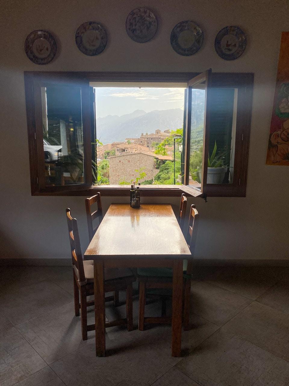 resataurant met mooi uitzicht westen Mallorca - Ca N'Autuna - Fornalutx