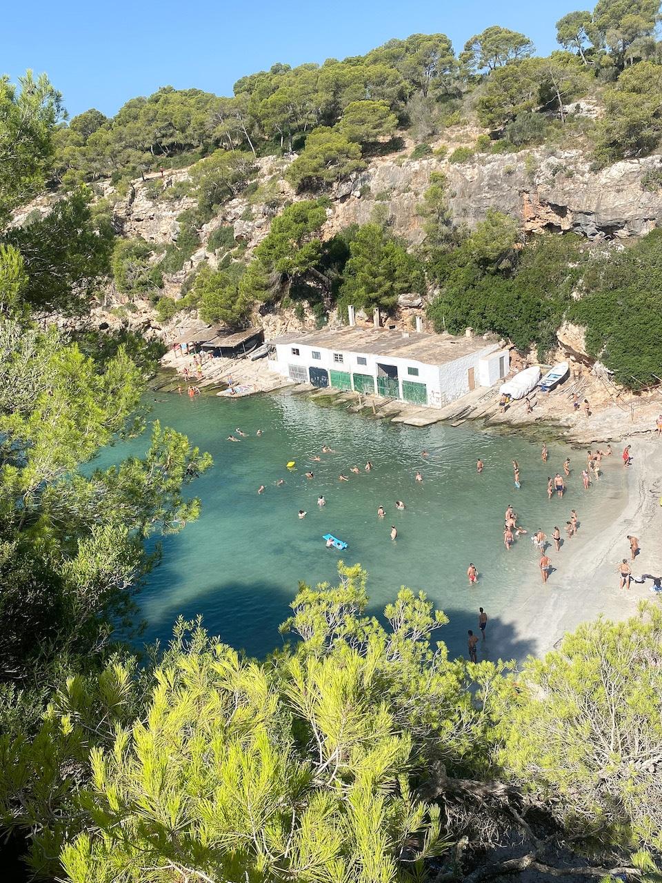 Cala Pi mooiste strand in het zuiden bij het vliegveld Mallorca
