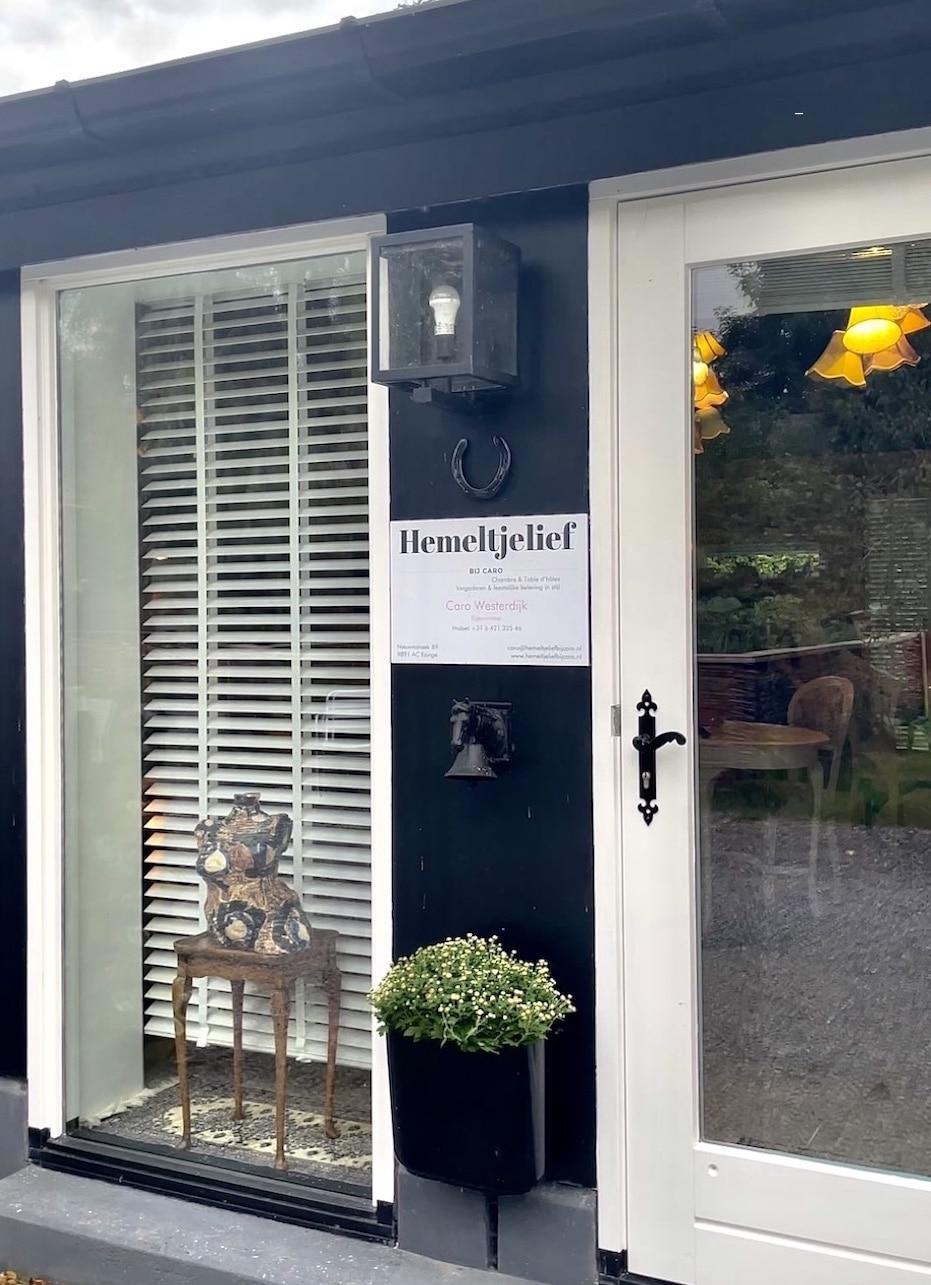 B&B hemeltjelief bij Caro Groningen uniek overnachten
