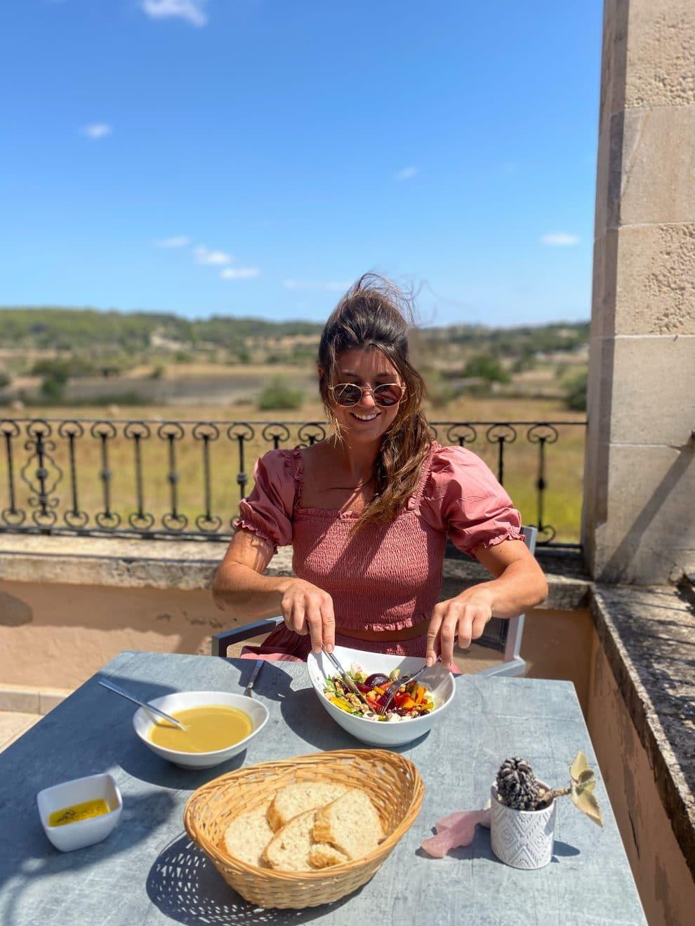 lunchen Son Manera retreat Mallorca