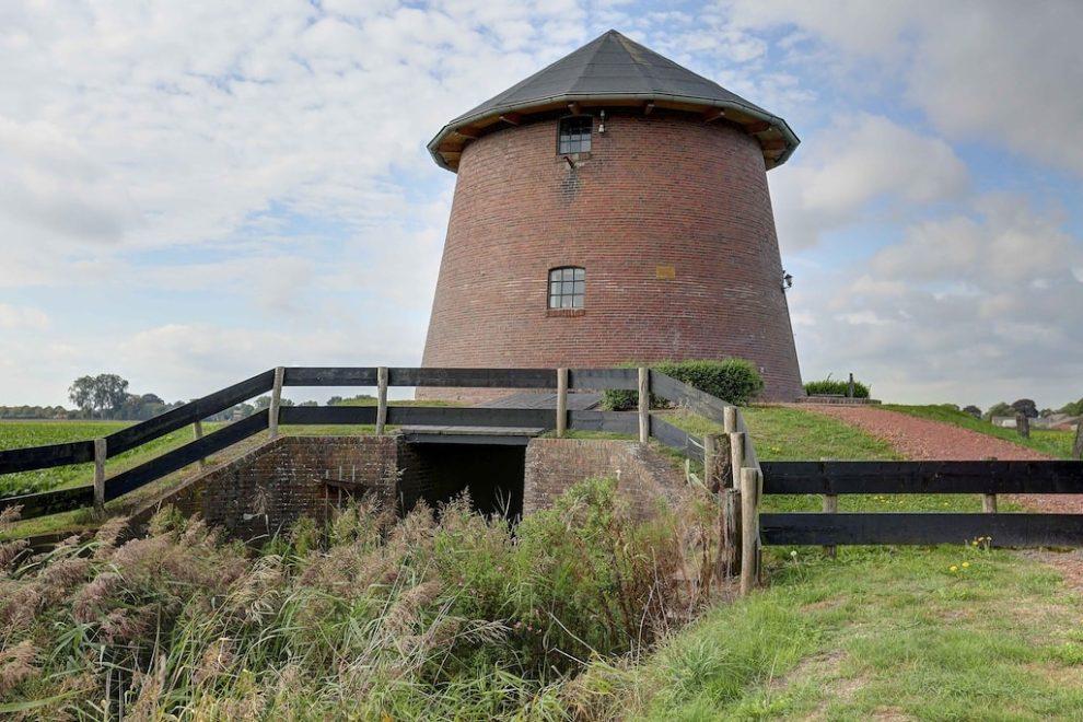 slapen in een watertoren in Groningen