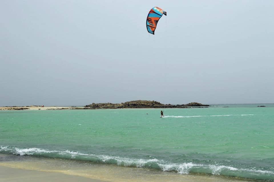 kitesurfen in Oman - Masirah island
